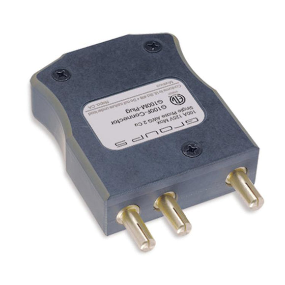 Group 5 Inline Stage Pin (100A/125V) Male G100M