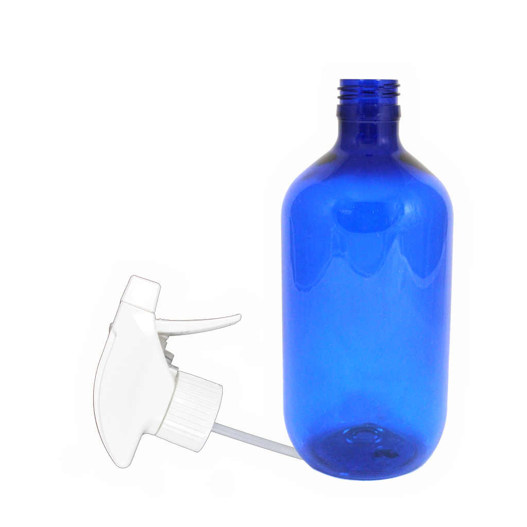500mL blue PET bottle with t/spray 10-pack