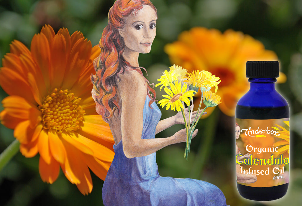 Organic Calendula Infused Oil 60mL