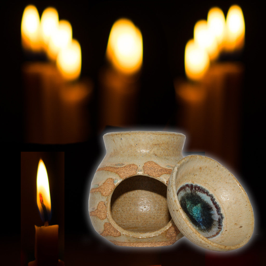 Essential Oil and Incense Burner Clay
