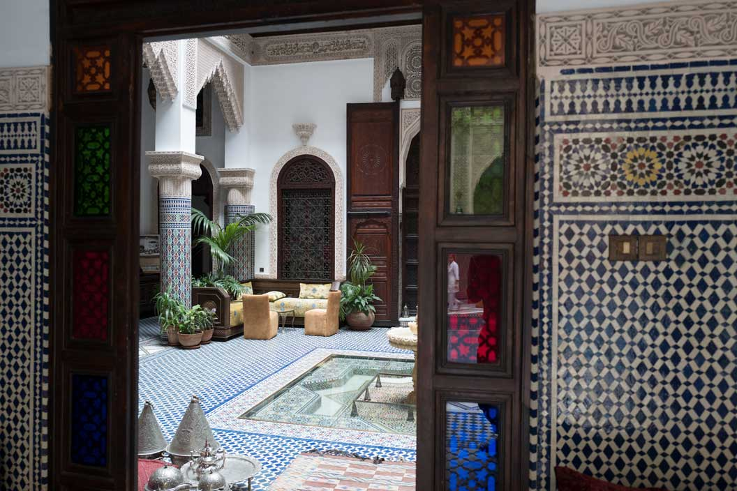 Riad Salam Guesthouse Hotel in Fes, Morocco | Stories + Objects Global Travel Notes