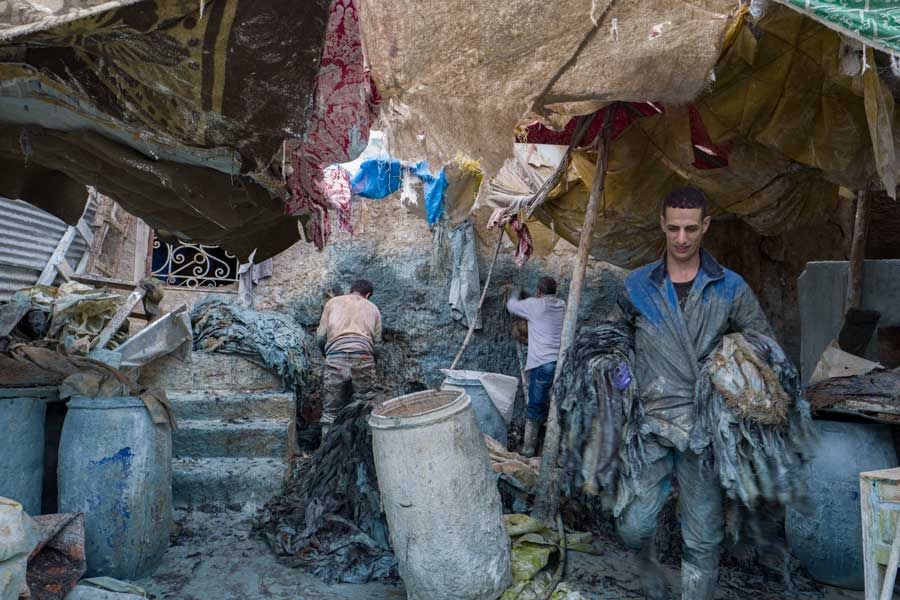 Naturally Dying Leather In Fes, Morocco | Stories + Objects Luxury Travel Magazine