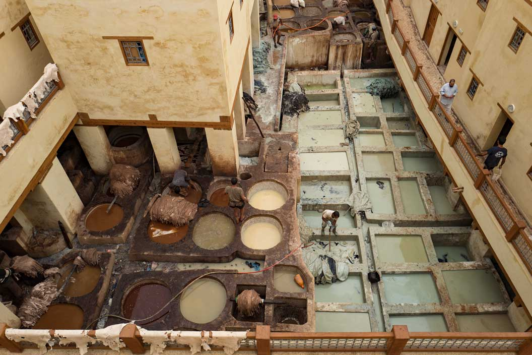 Leather Tannery Chouara in Fès, Morocco | Stories + Objects Global Travel Magazine
