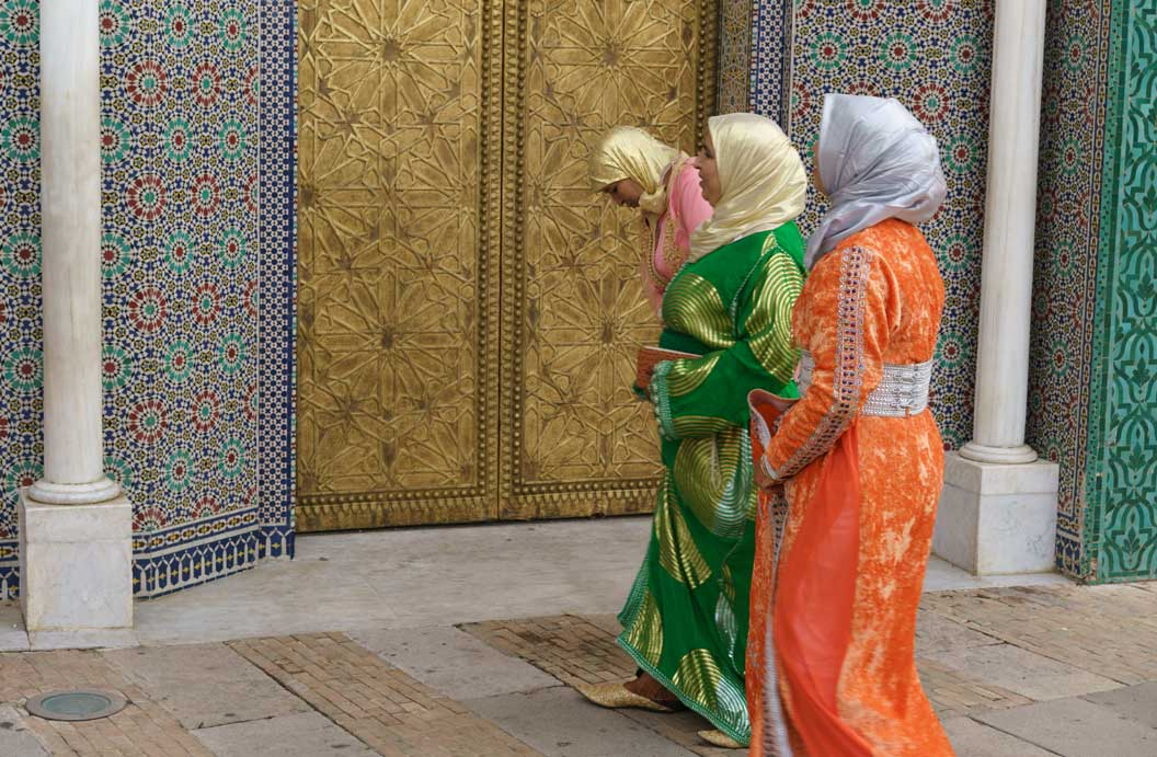 Moroccan Women In Colorful Dresses, Fès, Morocco | Stories + Objects Global Travel Images