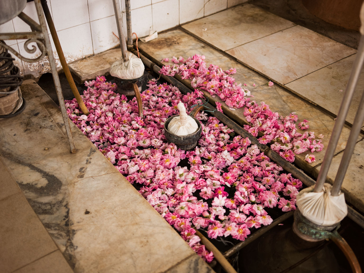 Double Fired Iranian Rose Water Making | Stories + Objects Travel Photography Images