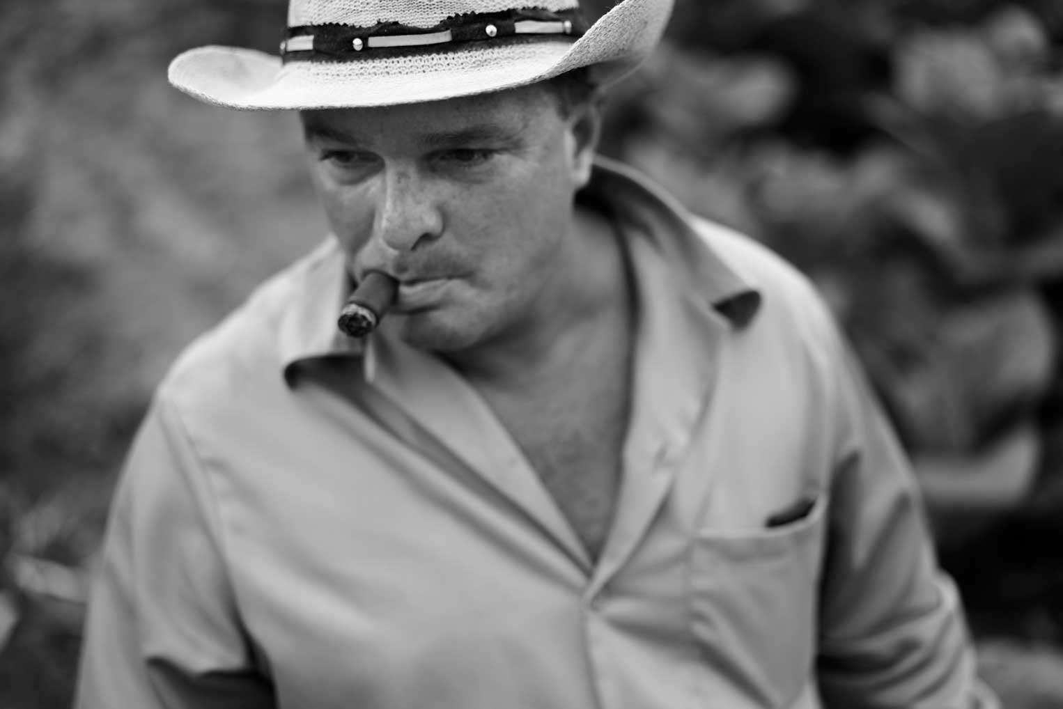 Portrait of Hector Luis Prieto Hombre Habano Tobacco Farmer | Stories + Objects Luxury Lifestyle Magazine