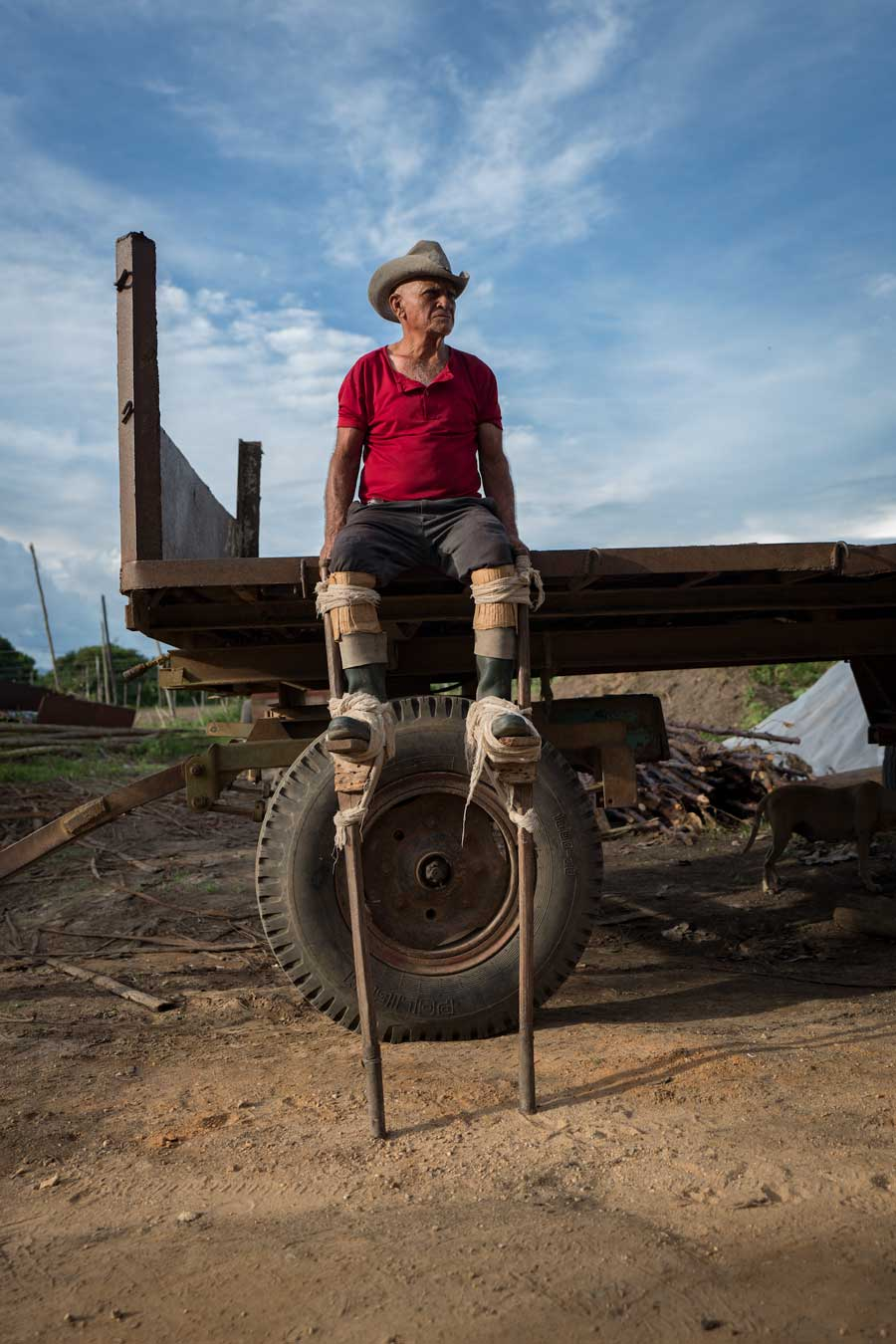 Tobacco Farm Worker On Stilts | Stories + Objects Luxury Travel Magazine