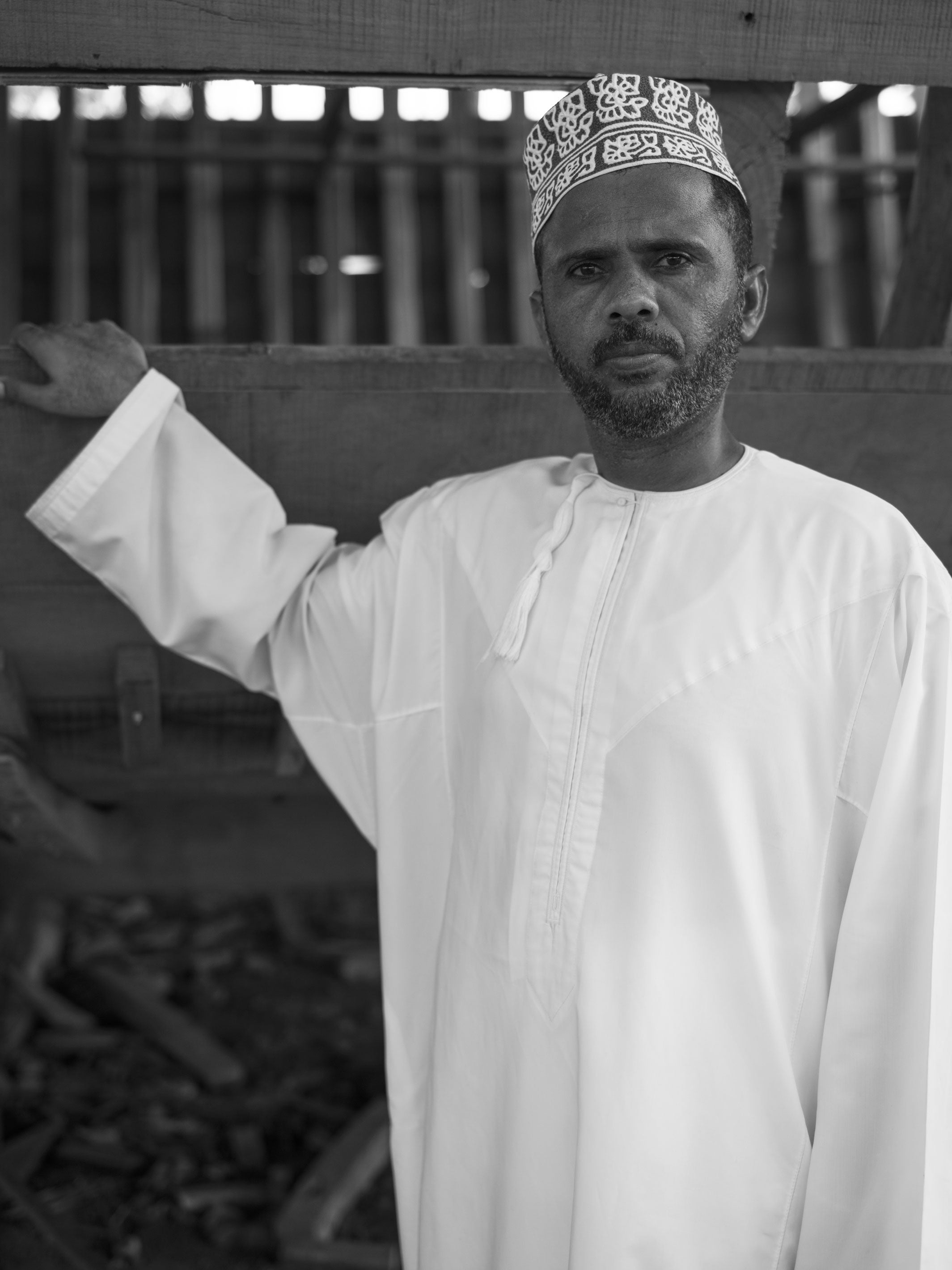 Portrait Of Riffian Self Sustainable Farmer Abdusalam | Stories + Objects Global Traveler Magazine