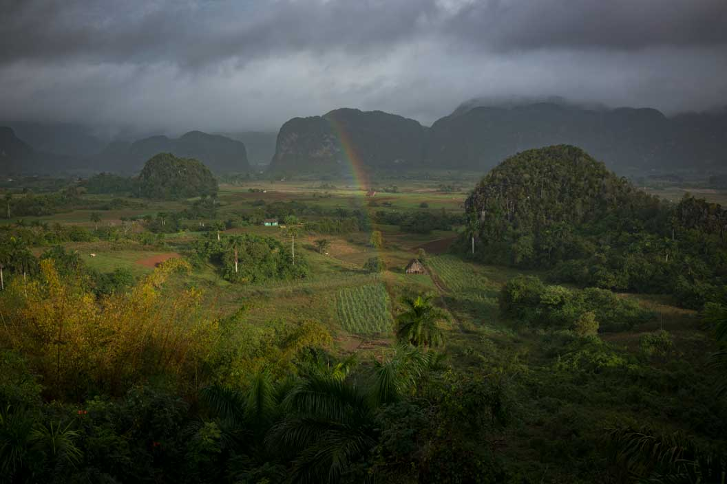 Rainbow in Vinales Valley Cuba | Stories + Objects Virtual Tourist Magazine