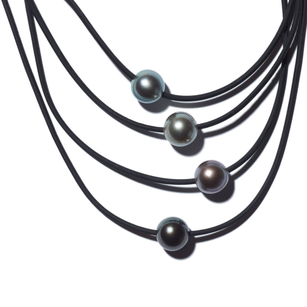 natural of mm necklace pearl s long aa black tahitian picture inches p ebay