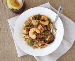 Garden Gumbo with Shrimp