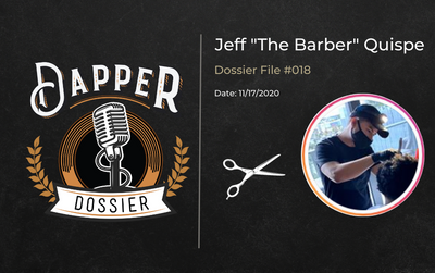 "Jeff ""The Barber"" Quispe - DD018"