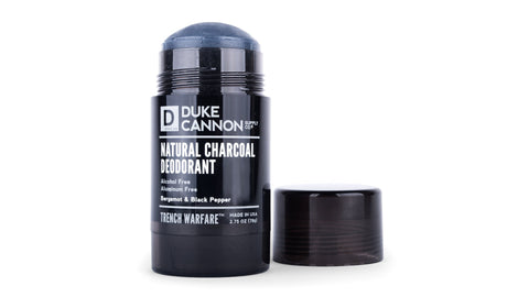 Duke Cannon's Trench Warfare Natural Charcoal Deodrant