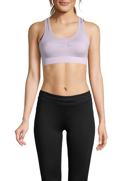 Casall Smooth Sports Bra - Lavender Spa