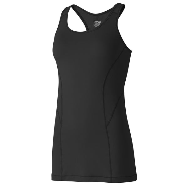 Mesh Mix Racerback - Black