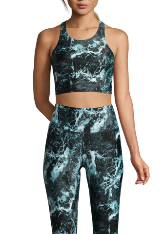 Casall Stone Print Sports Top