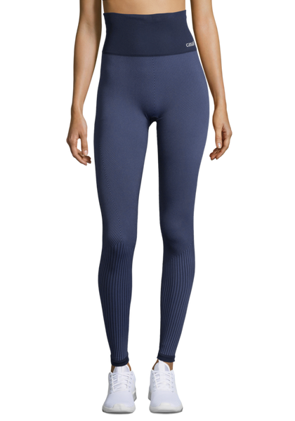Casall Seamless Tights - Mineral Blue