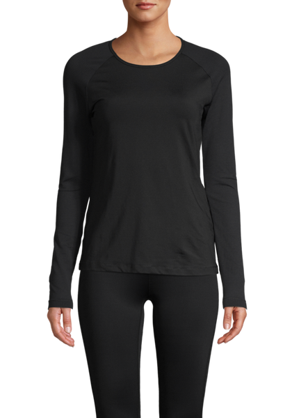 Casall Iconic Long Sleeve - Black