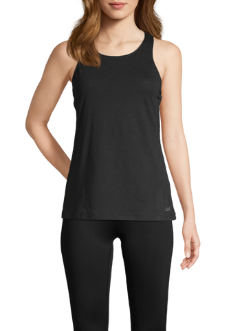 Casall Textured Loose Racerback - Black
