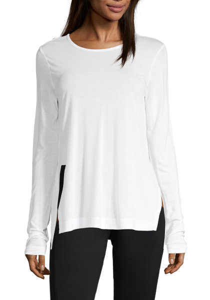 Casall Conscious Tencel Long Sleeve White
