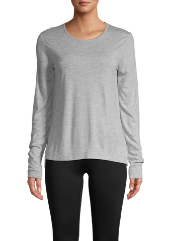 Casall Conscious Tencel Long Sleeve Grey Melange