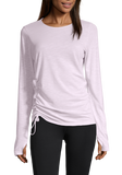Casall Simply Stylish Long Sleeve - Lavender Spa
