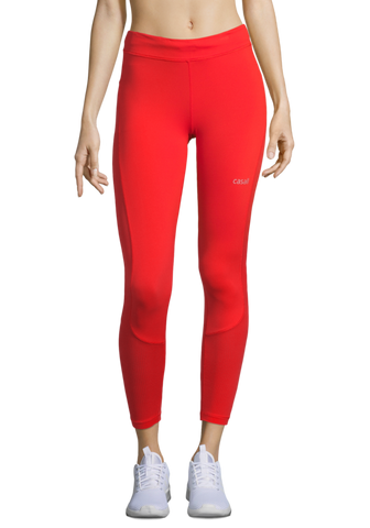 Casall Iconic 7/8 Tights - Sunset Red