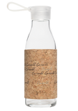 ECO Glass Bottle 0.6L - Natural Cork