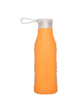 ECO Glass Bottle 0.6L - Soft Orange