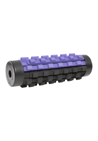 Adjustable Density Tube Roll - Black/Lilac