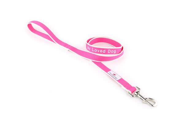 """My Loved Dog"" Collar & Leash Set"