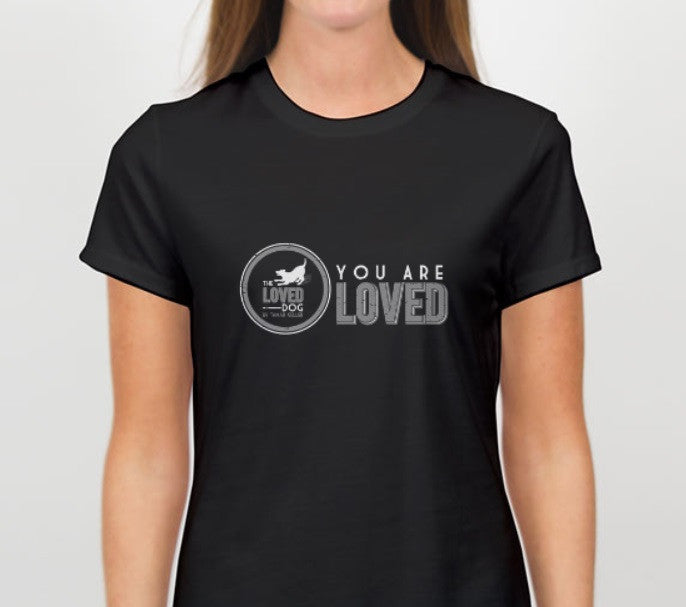 """You Are Loved"" Tee Midnight Black"
