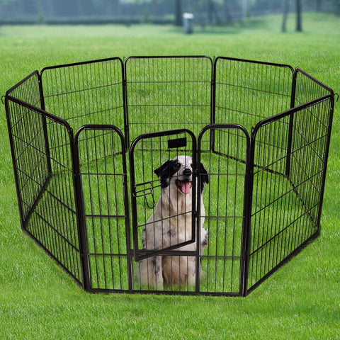 8 Panel Heavy Duty Pet Playpen