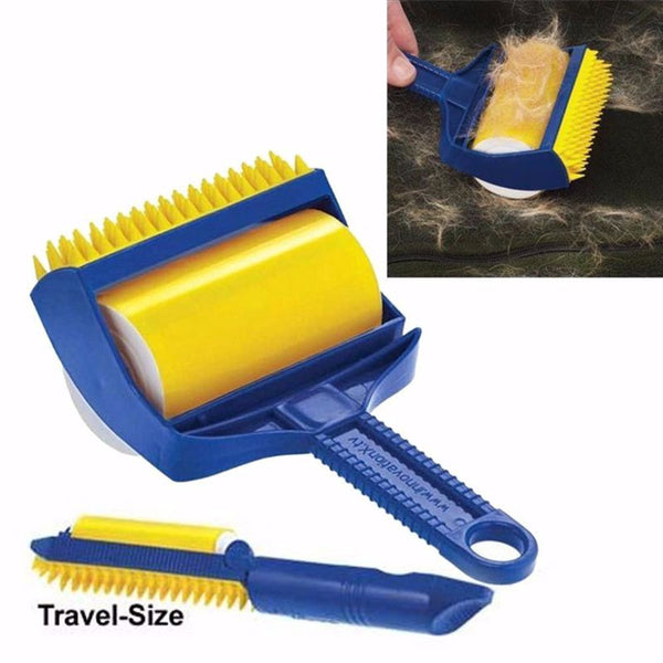 Reusable Sticky Buddy  Lint Roller Pet Hair Remover Brush