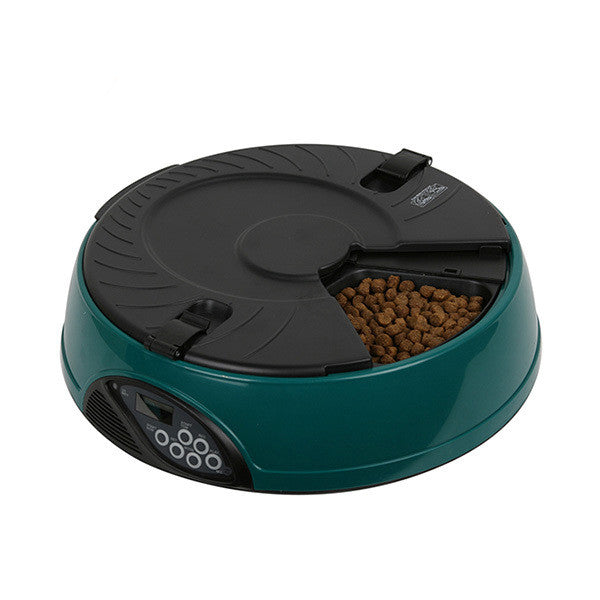 6 Meal LCD Display Automatic Food Feeder
