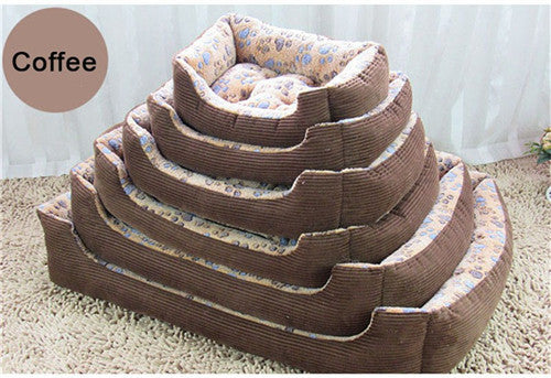 Cotton Padded Bed for Dogs & Cats