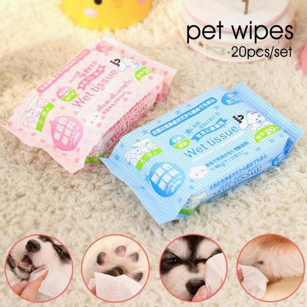 Disinfection Wet Tissue for Dogs & Cats