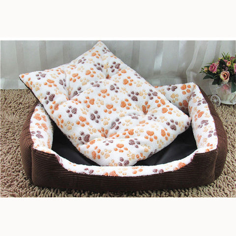 Warm Cotton Dog & Cat Bed
