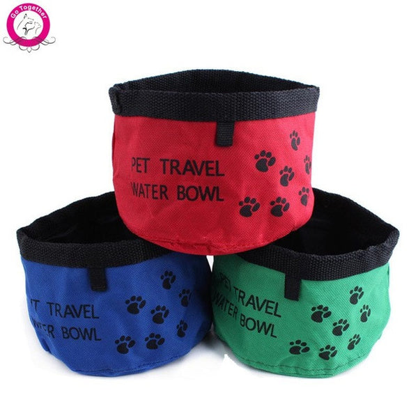Folding Pet Water and Food Bowl