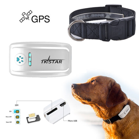 Waterproof Mini GPS Tracker/Locator for Pets