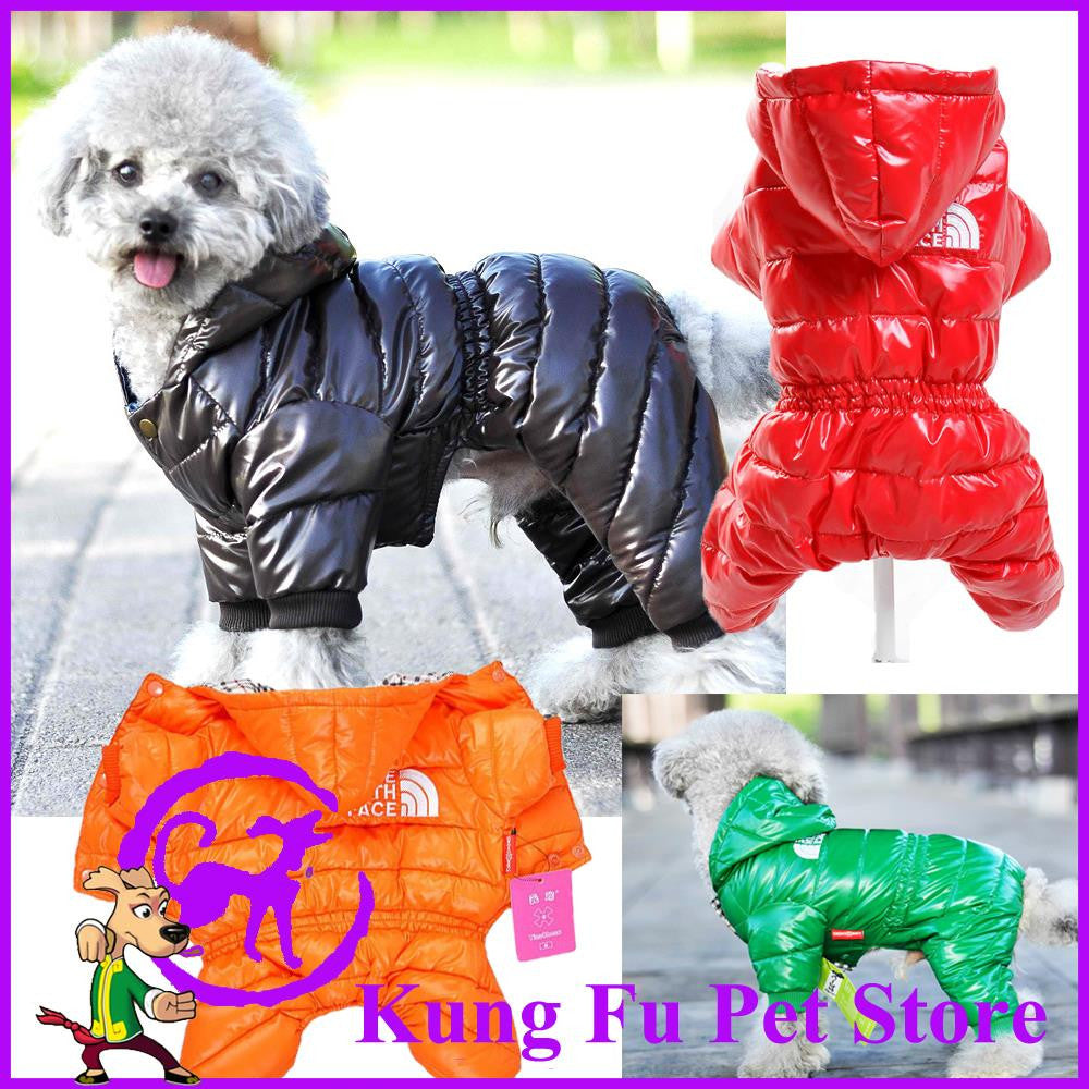 Down Jacket for Dogs - Great for Winter! Sizes XS - XXL