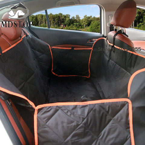 Quilted Pet Hammock - Nonslip Waterproof - Rear Back Seat Cover for Car, Truck and SUV