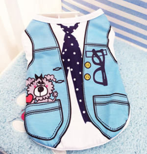 High Fashion Jumpsuit Pattern Clothes For Dogs XS-XXL