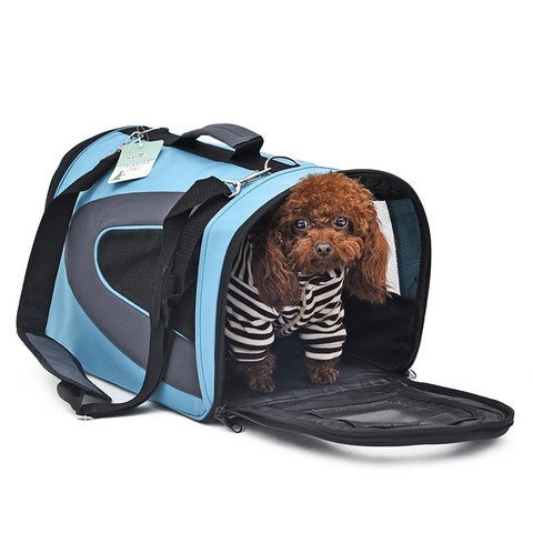 Dog & Cat Carry Bag - Nylon Waterproof - Classic Design High Quality S-XL