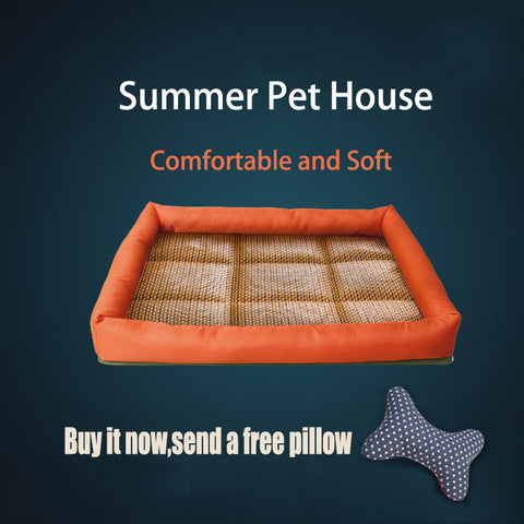 Summer Lightweight Dog Bed