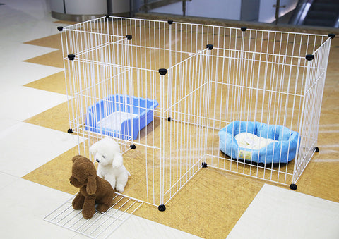 Multifunctional Pet Fence - 6 Piece Super Strong Iron Cage