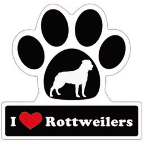 Dog and Cat Paw Print Car Stickers