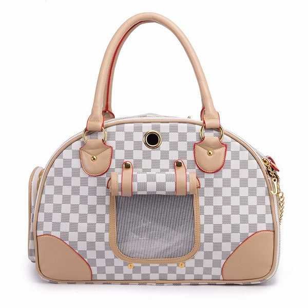 Luxury Pet Transportation Carrier Tote Bags For Small Dogs & Cats