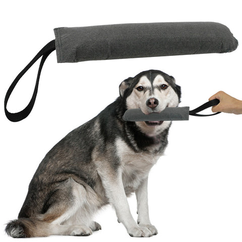 Soft Dog Tug Training Toys  With Handle
