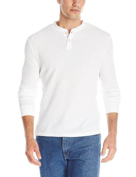 Oxford NY Men's Waffle Henley Shirt - Aris-fashion-imperium-ja - 1